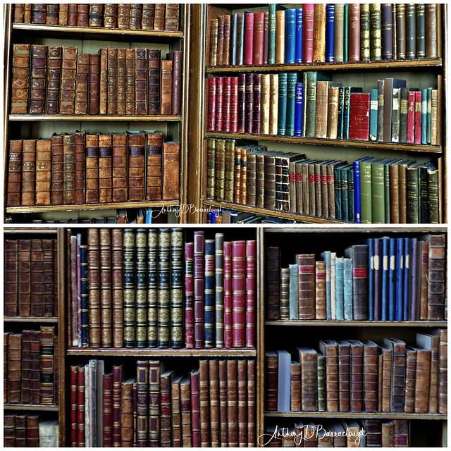 Calke Abbey Library Diptych 315-316-1