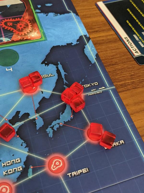 Playing Pandemic in lockdown