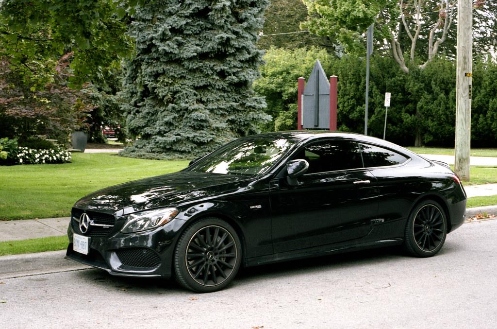 Black Mercedes Coupe
