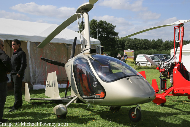 G-JJMM - 2020 build Magni M-24C+ Orion, displayed at Popham during the 2021 Microlight Trade Fair