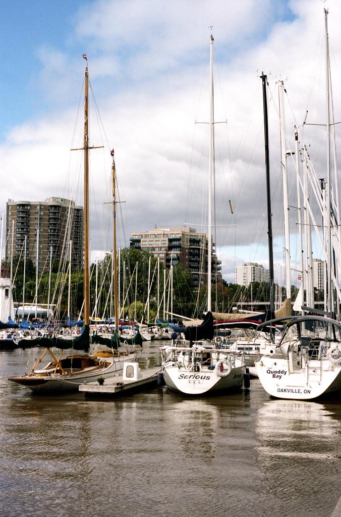 Three Saile Boats on the 16