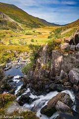 Ogwen River Nant Ffrancon Pass Snowdonia
