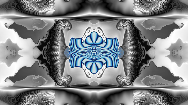Blue Gnarl created with Jux Fractal