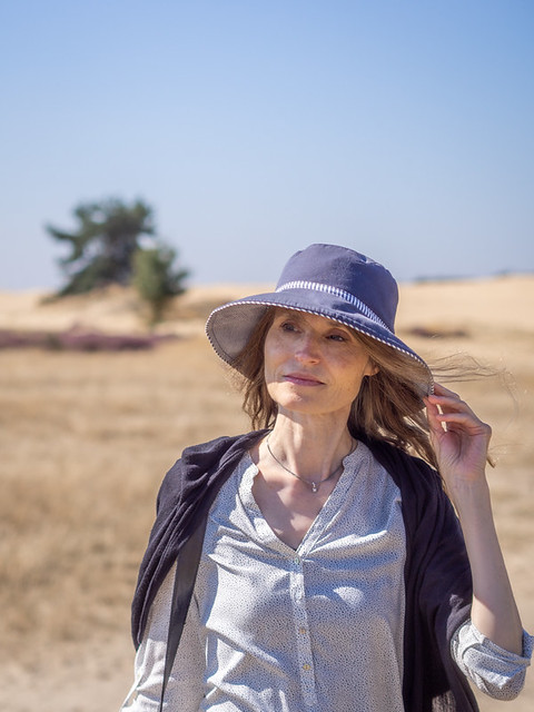 Mariëlle, Veluwe 2021: Lady of the desert