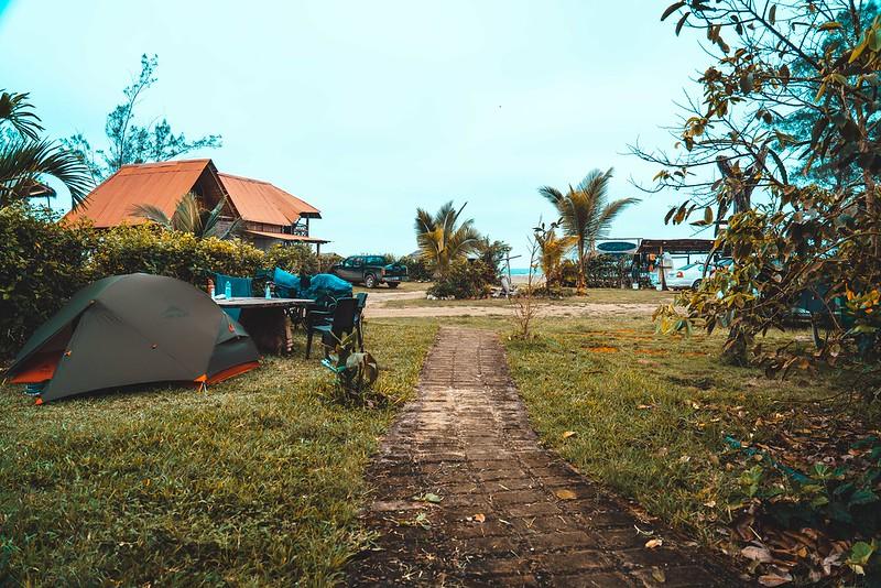 Camping en Ayampe