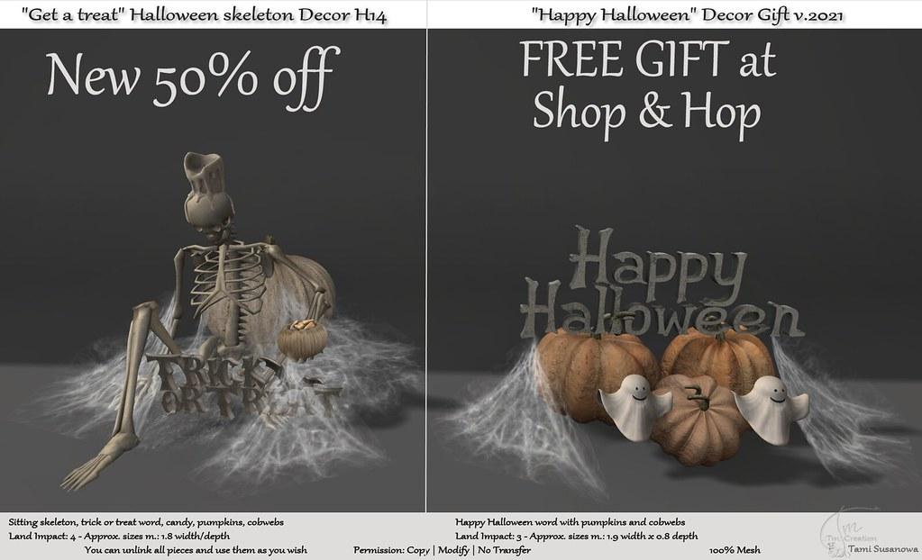 .:Tm:.Creation Halloween Decors at Shop & Hop