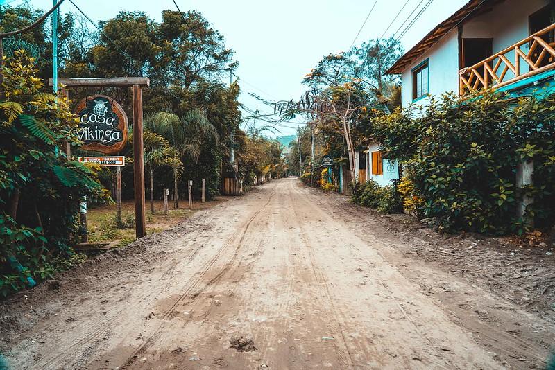 Calles de Ayampe