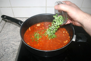 24 - Add peas / Erbsen hinzufügen