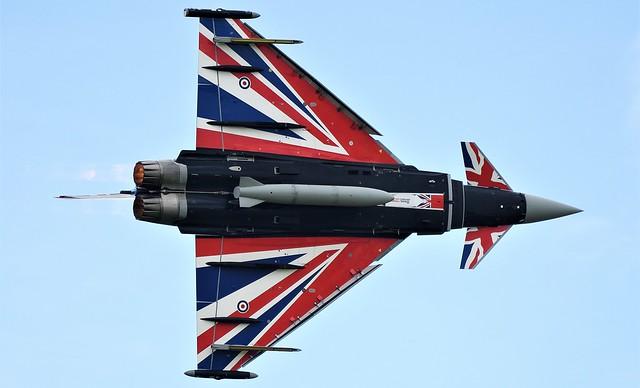 Eurofighter Typhoon FGR4 Jet Fighter  ZJ914 No 29 Squadron RAF