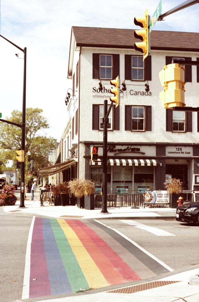 Rainbow Sidewalk at Navy Sept 2021