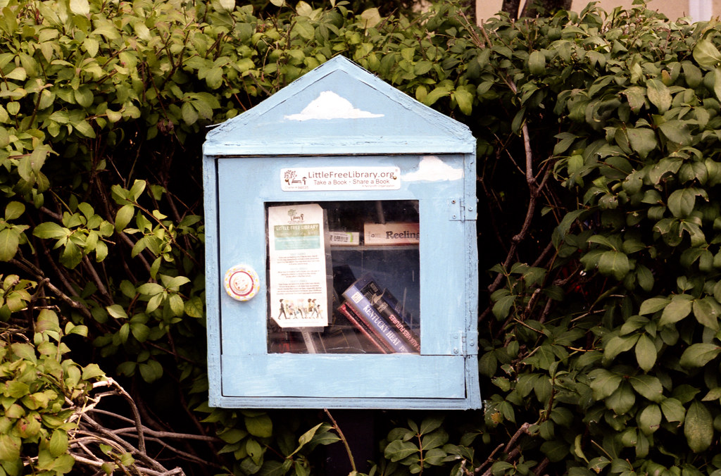 Little Free Library on Navy St