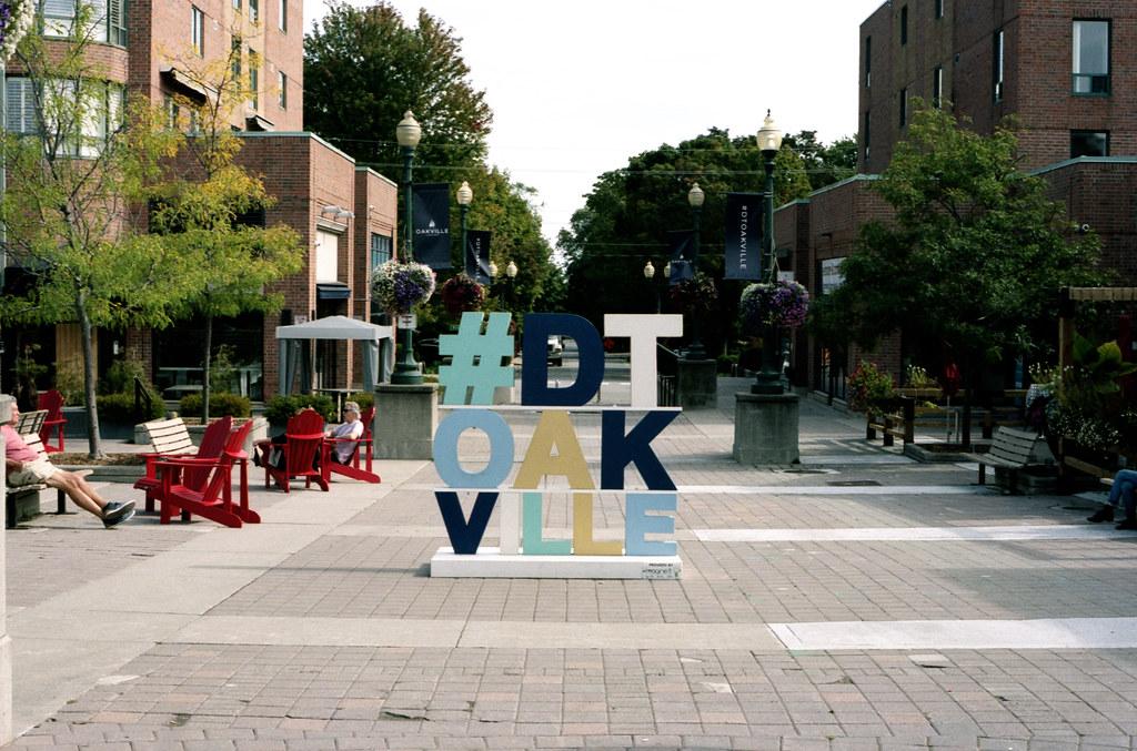 The Fall DTOakville Hashtag