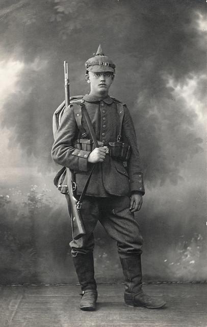 Young soldier of Infanterie-Regiment Hamburg (2.Hanseatisches) Nr.76