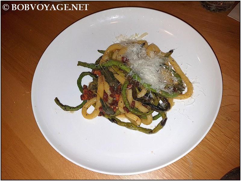 פיצ'י ולוביה ב-מסעדת נומי (Nomi)