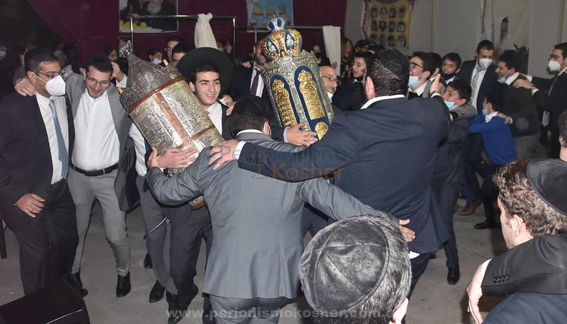 Hakafot sheniot 5782 en Shaare Sion