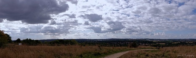 View from Bestwood Country Park (03). Sept 2021