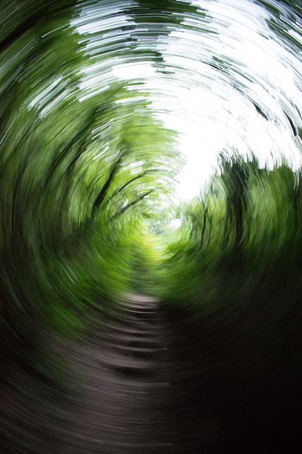 Playing with the cam: Rotation effect