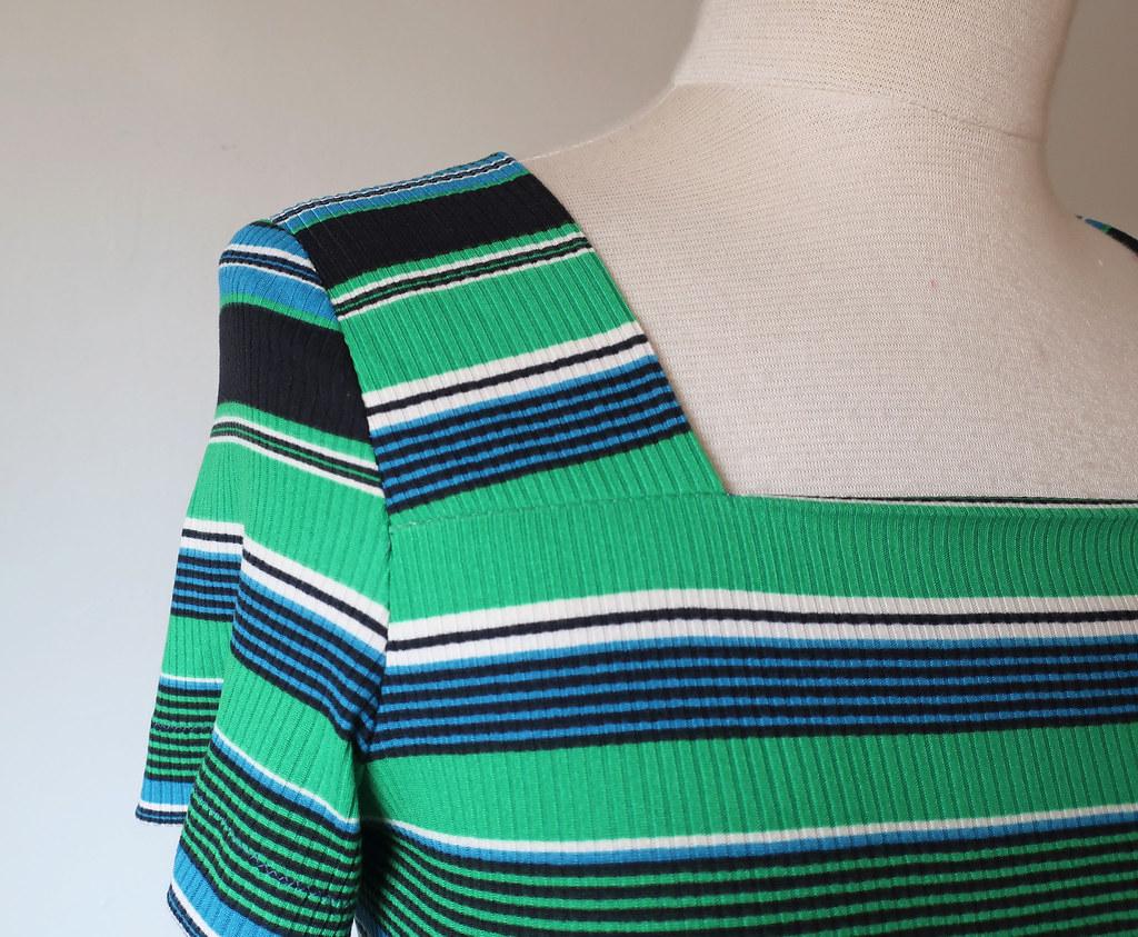 green stripe matching