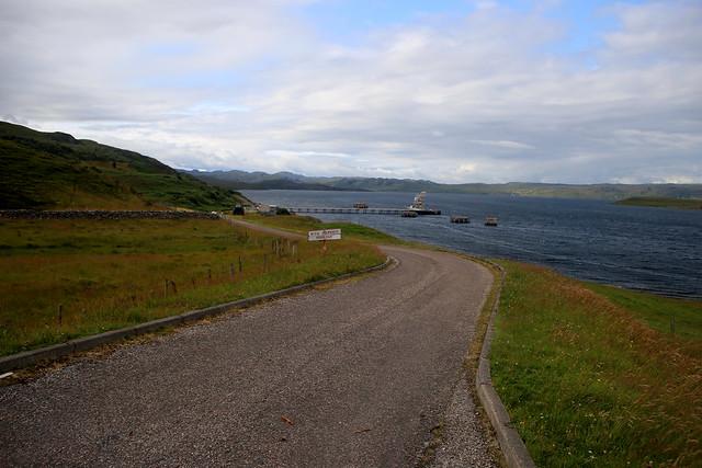 Loch Ewe south of Aultbea