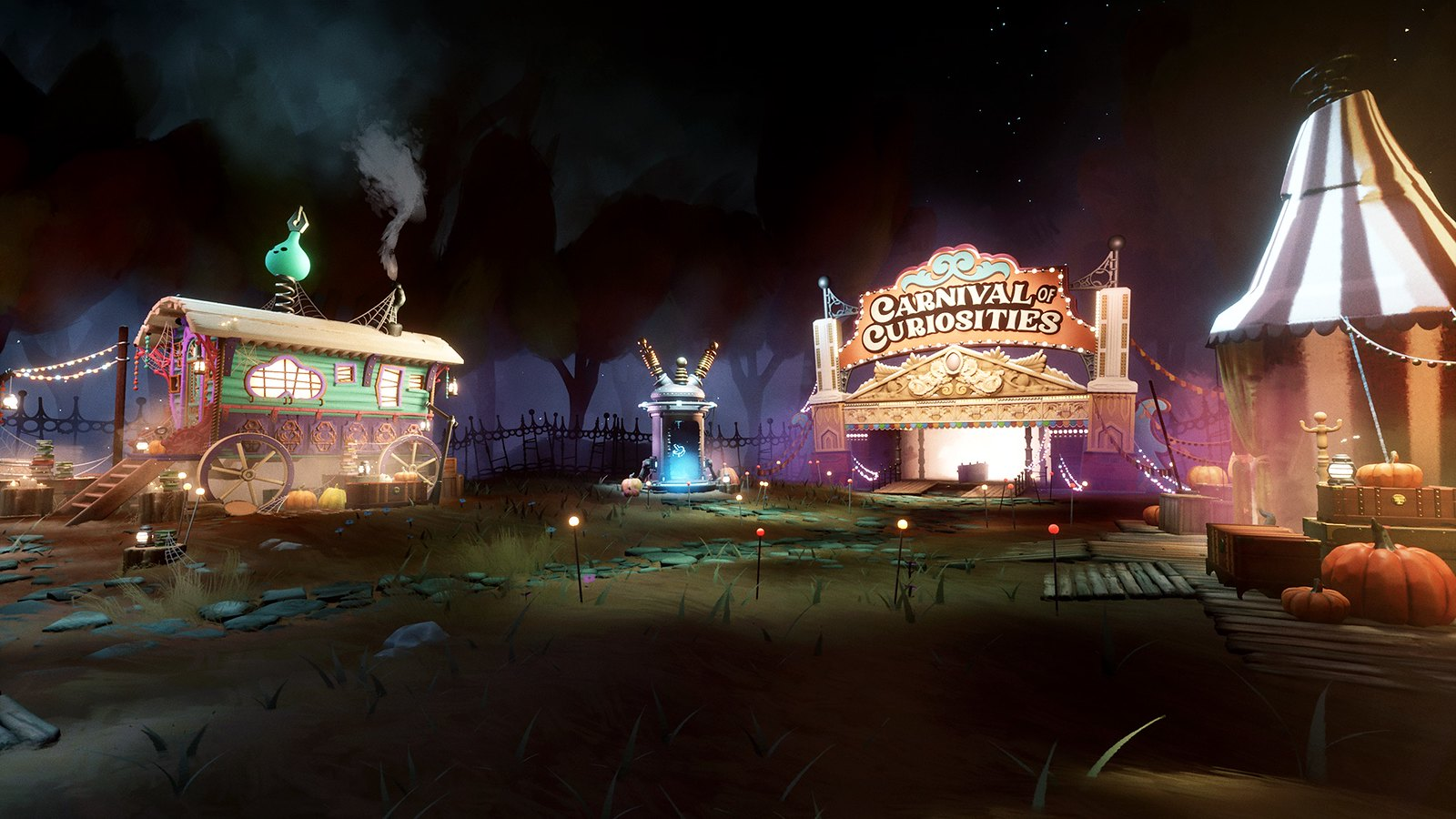 Playstation News: All aboard for coMmunity collaboration All Hallows' Dreams: Ghost Train