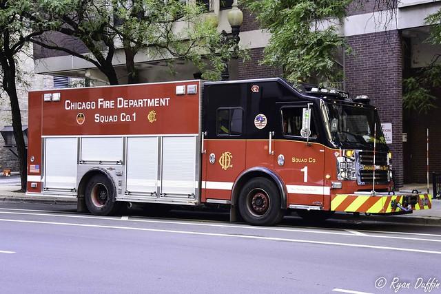 Chicago Fire Department.  Squad 1