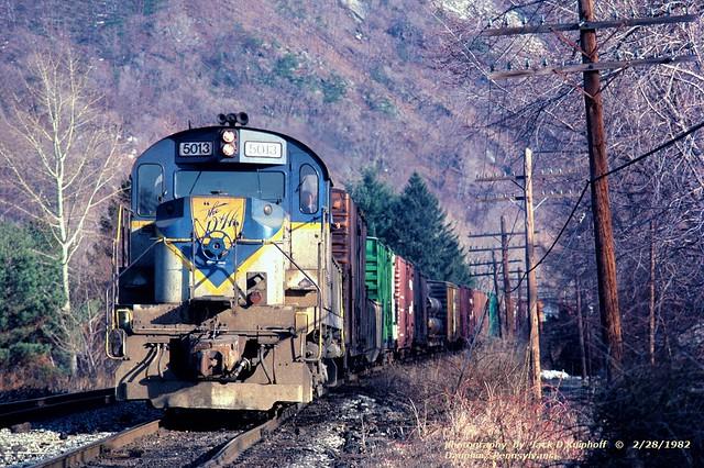 DH 5013, Dauphin, PA. 2-28-1982