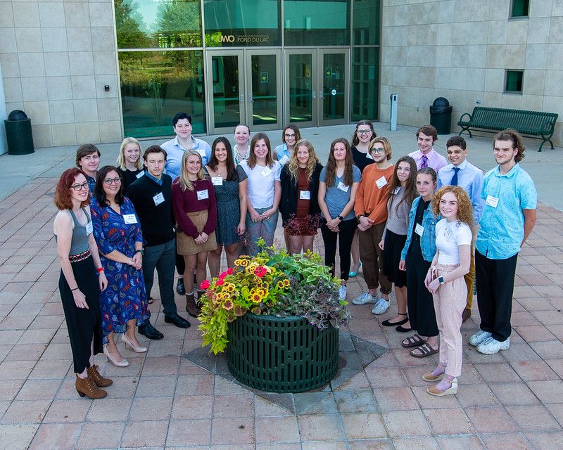 UW FDL scholar and donor reception. Sept. 29, 2021