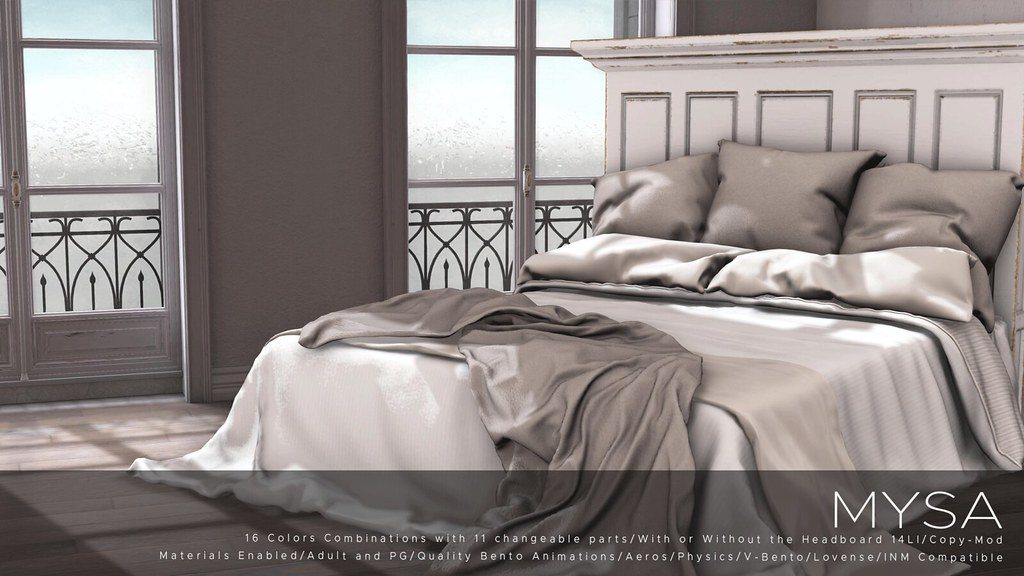 NEW RELEASE Vila Collection Bed @ FaMESHed