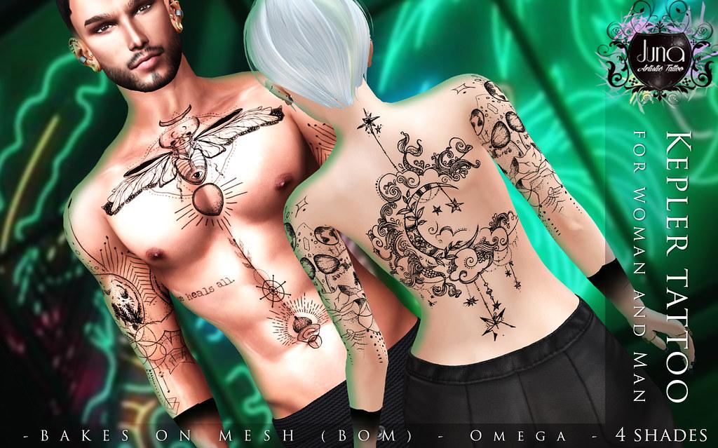 Kepler tattoo Unisex