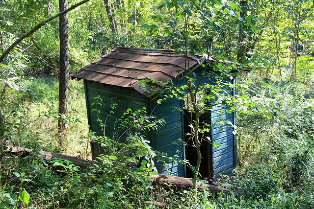 Abandoned privy