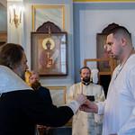 30 сентября 2021, Крещение мастера спорта по дзюдо Дениса Галиева в церкви в честь иконы Божией Матери «Всех скорбящих Радость» (Тверь)