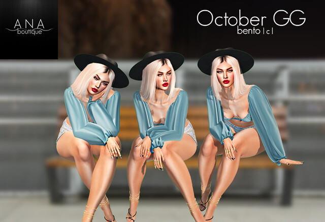 NEW! Ana Boutique October GG
