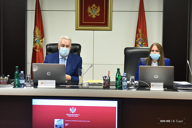 41. sjednica Vlade Crne Gore (30.09.2021.)