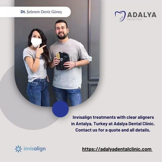 Invisalign Turkey - Antalya Dental Clinic