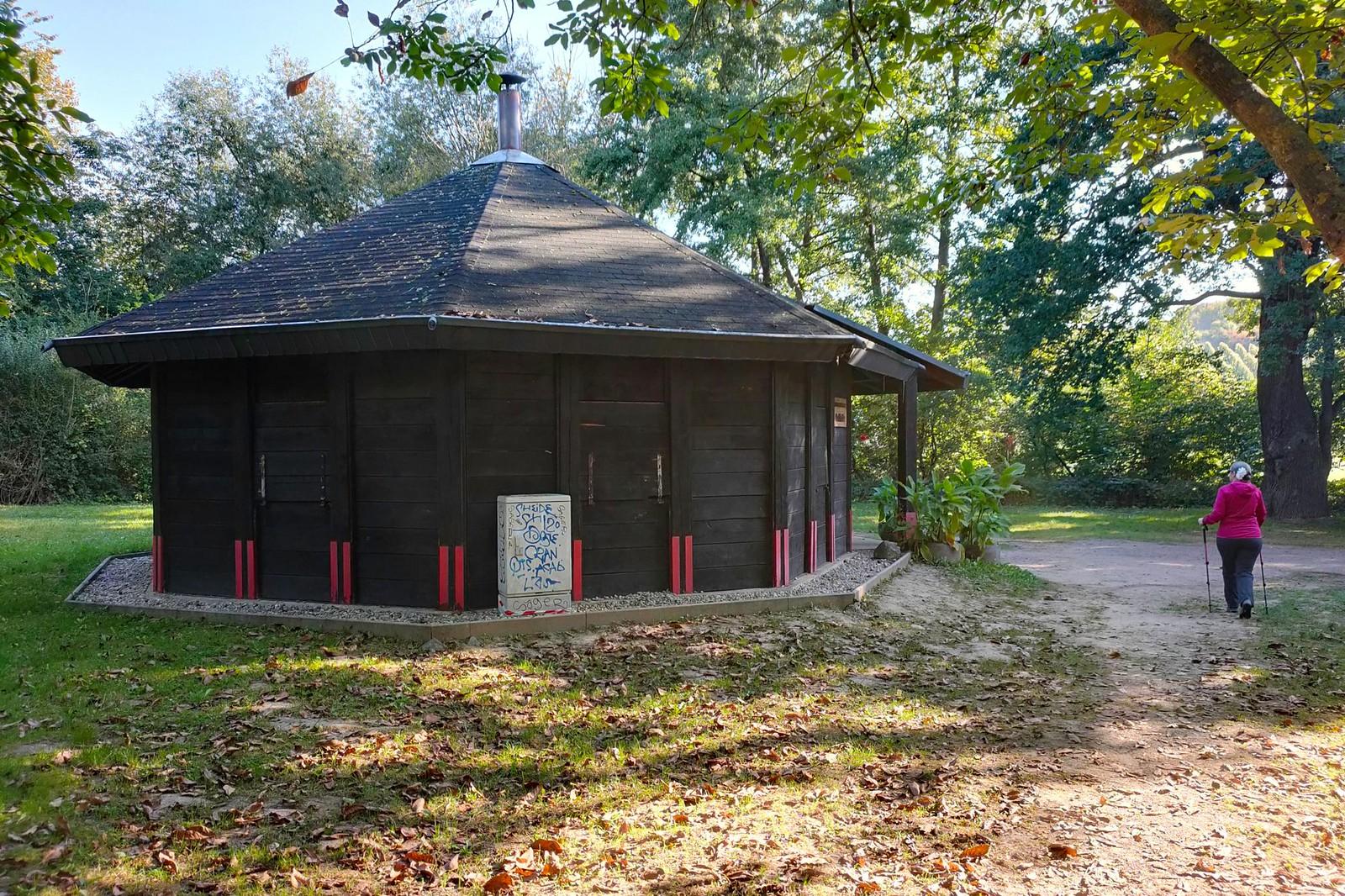 Grillhütte am Friedhof von Hattenheim