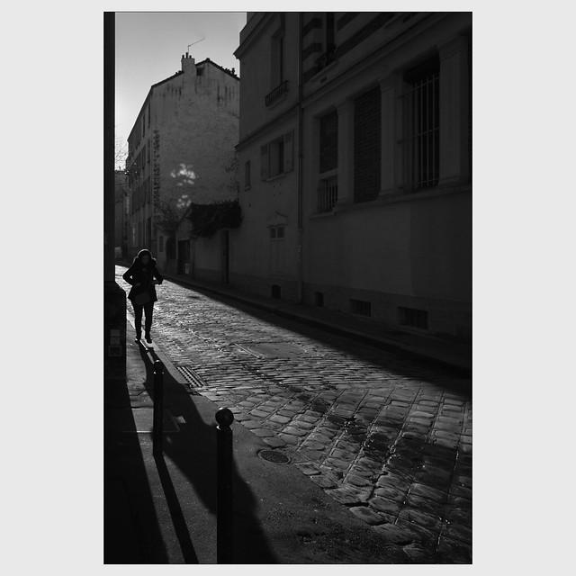 Hiver à Paris.