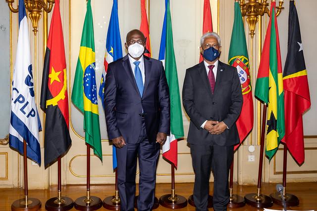 21.09. Secretário Executivo recebe Ministro das Relações Exteriores de Angola