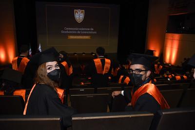 Ceremonia Solemne de Graduación de Licenciatura, Generación 2020. 28 de septiembre del 2021.