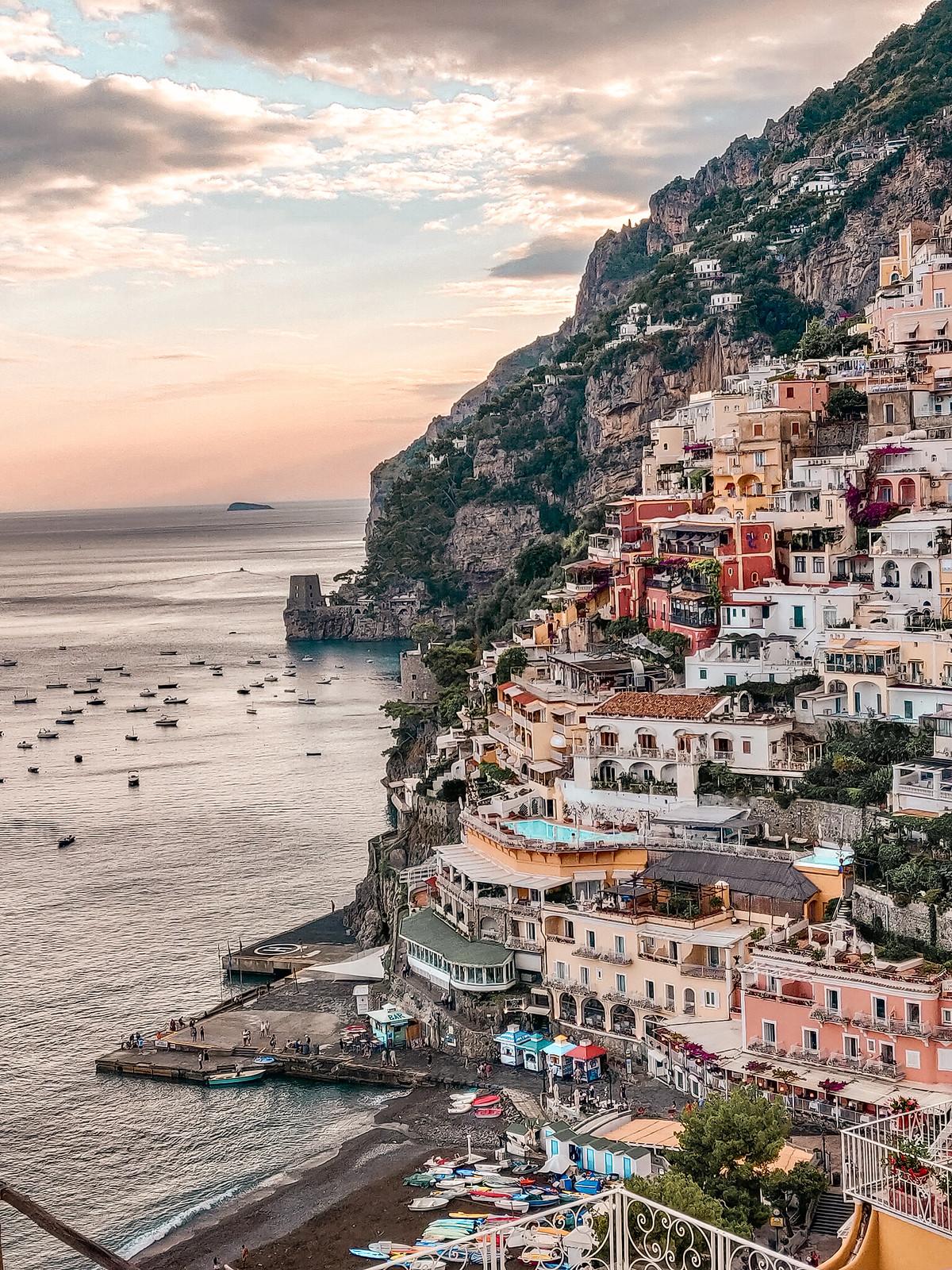 Ajaminen Amalfi Coastilla