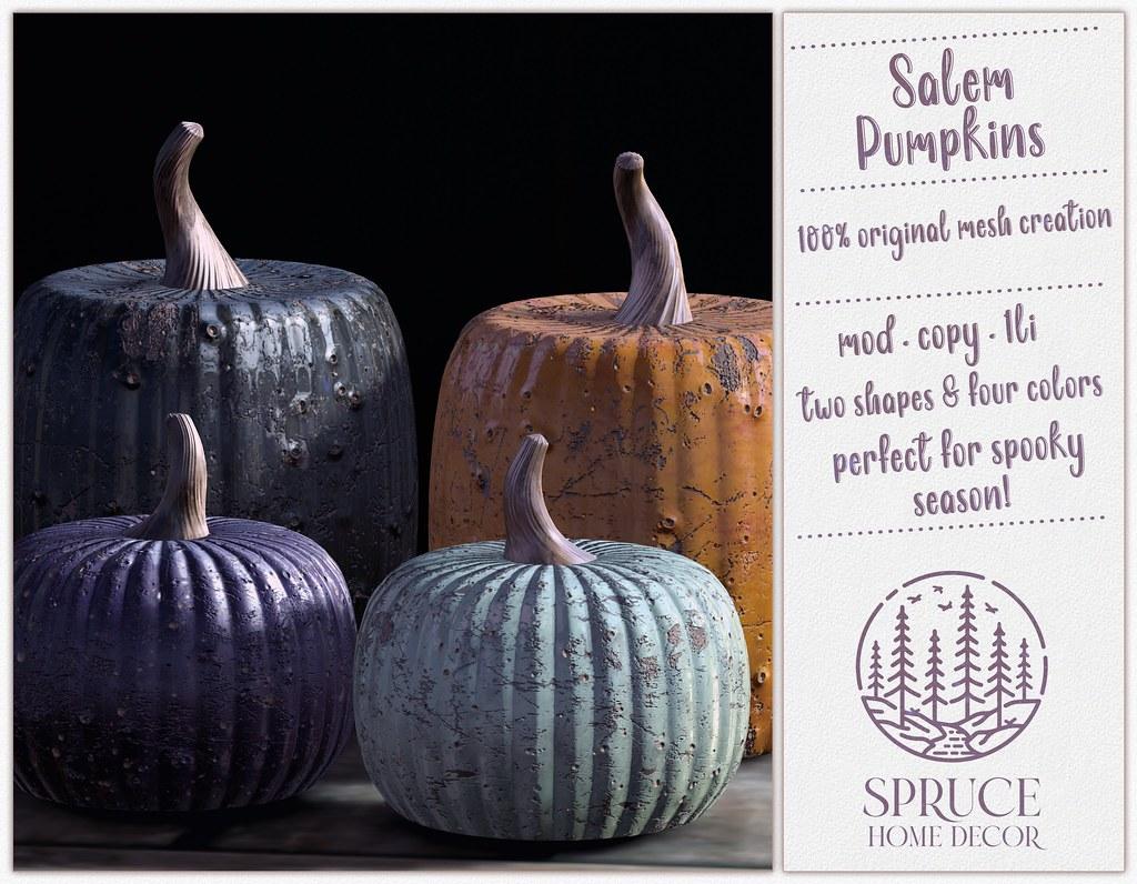 .spruce. salem pumpkins
