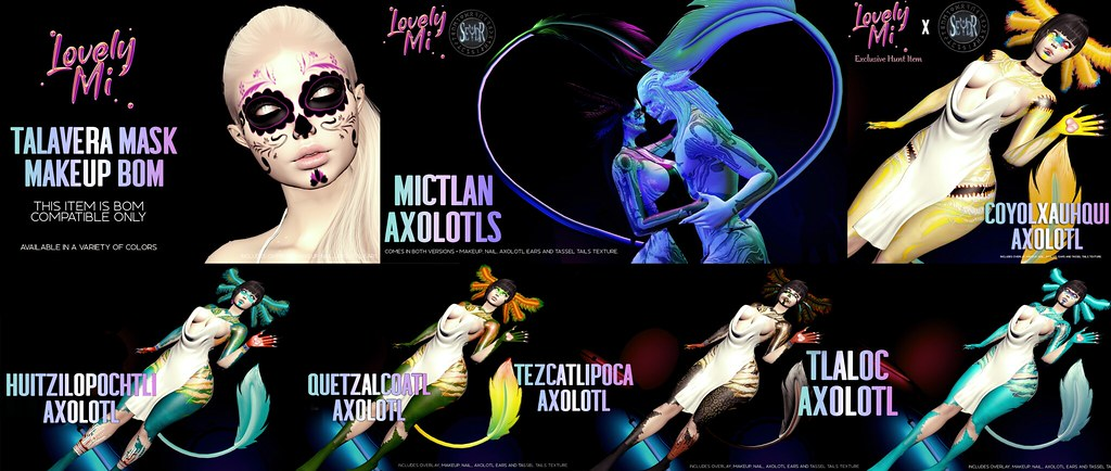 Lovely Mi X Seydr Axolotl Collaboration