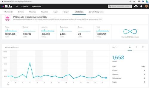 ¡Siete millones de visitas en este vuestro blog! ¡Gracias!