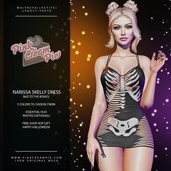 Narissa Skelly Dress Gift @ Shop Hop Halloween