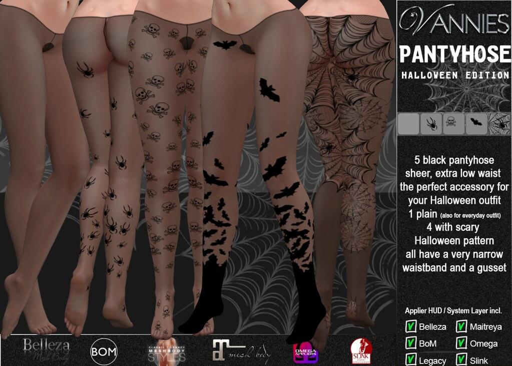 VANNIES Pantyhose Halloween
