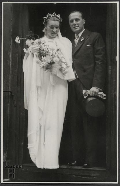 ArchivTappen24Album10r35 Hochzeitsalbum, 1930er
