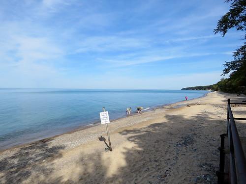 Pier Cove Lake Michigan