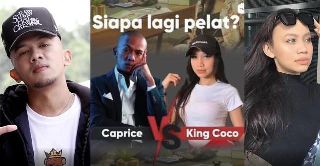 Caprice Vs King Coco, Ujian Siapa Lagi Pelat, Netizen Restu Sesuai Dijodohkan