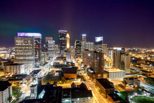 Northern Lights, Minneapolis