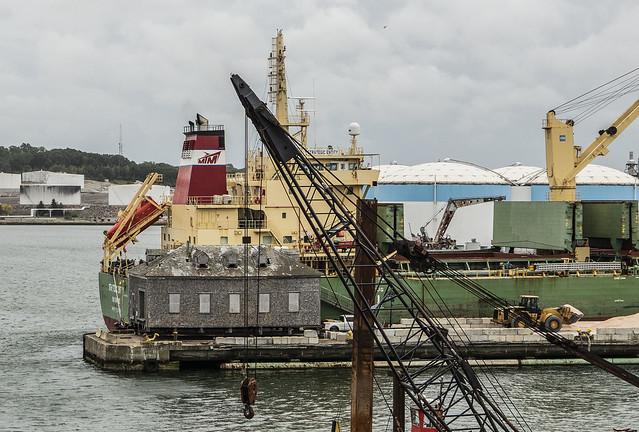 Ship at Pier