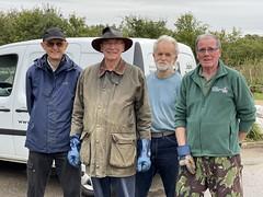 John, Howard, Derek and Nigel of West Berkshire Field Team